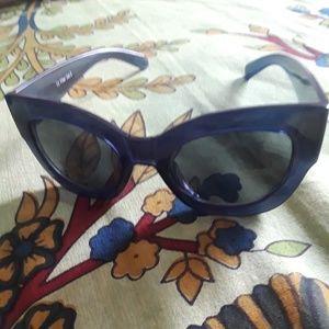 Anthropologie Blue Sunglasses